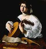 Image: 'The lute player' by Caravaggio