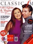 Image: Alagna & Gheorghiu on cover of Classic FM Magazine, March 2003
