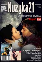 Image: Alagna & Gheorghiu on cover of Muzyka 21, September 2001
