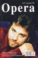 Image: Alagna on cover of Opera, December 1997
