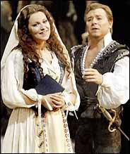 Image: Alagna & Gheorghiu in Faust, NY Met, 3 March 2003.