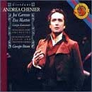 Image: Cover of Andrea Chenier CD, Carreras and Marton, Sony.