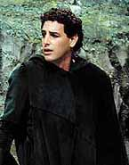 Click for larger image: Florez in La donna del lago, Pesaro 2001