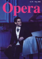 Image: Cover Opera (UK) magazine May 2002