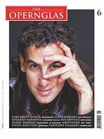 Image: Florez on cover of Das Opernglas, June 2001