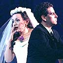 Image: Florez & Kelessidi in La Sonnambula, London 2002