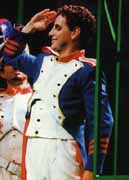 Image: Juan Diego Florez in La fille du regiment, Las Palmas, 2001. Photo by Gonzalez