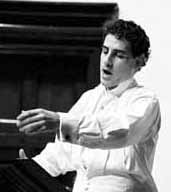 Image: Juan Diego Florez in rehearsal, Wigmore Hall, London, 15 November 2002